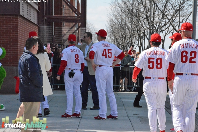 Philadelphia Phillies Home Opener 2018