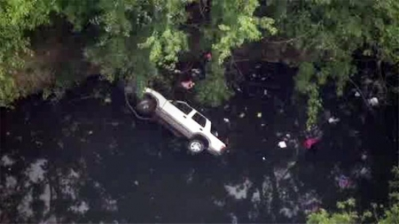 SUV Crashes into Cobbs Creek; Philly College Move In Day; Tacony Shootout Suspect ID'd
