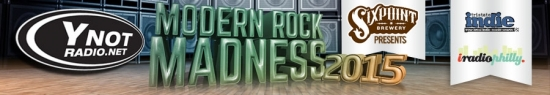 Y-Not Radio's Modern Rock Madness 2015 begins on Monday 3/30; Get your brackets today!