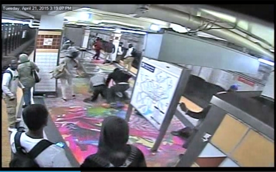 SEPTA Subway Teen Brawl Video; NJ Residents Evacuate Sinkhole; PPA Employee Killed by Tow Truck