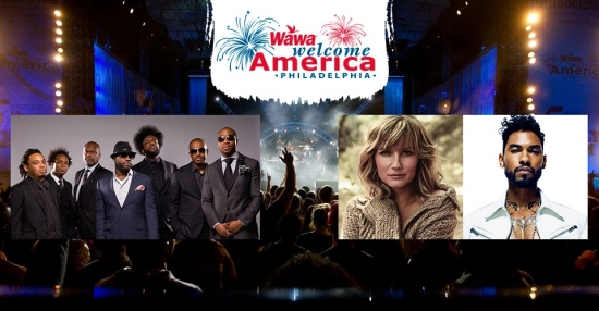 Wawa Welcome America 4th of July Jam Lineup Announced; The Roots, Miguel, Jennifer Nettles