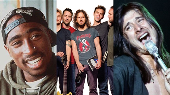 2017 Rock and Roll Hall of Fame Nominees Announced; Tupac Shakur, Pearl Jam, Journey; Vote Now!