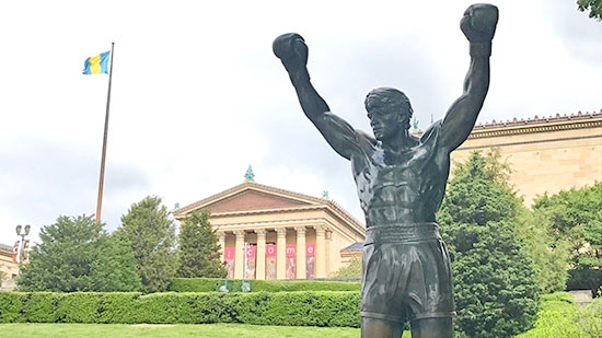 Rocky Statue 'Closed' for Two Weeks; Two Officers Hurt in Crash; Suspicious Child Death in SW Philly