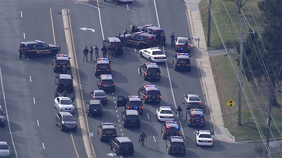 Suspect in Custody After Newark Standoff; Body Found in Plymouth Shopping Center, 1 in Custody