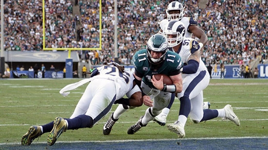Carson Wentz Out for Season ACL Tear; 4 Nuns Injured in Crash; Bomb Attack in New York City