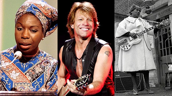 2018 Rock and Roll Hall of Fame Inductees Announced; Bon Jovi, Nina Simone, The Cars and more