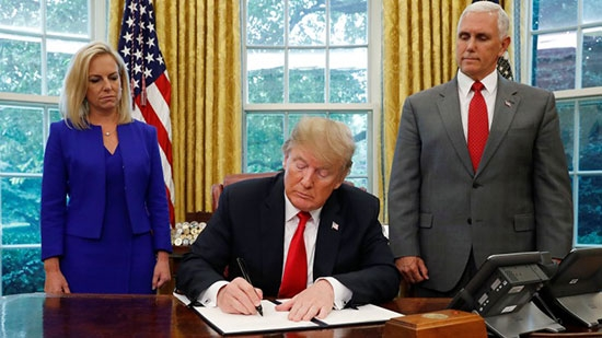 Trump Signs Exec. Order on Separations; Meth Lab in Montco; Bucks County Luring; Hot Dog Hits Fan