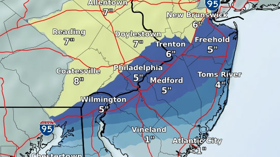 iradiophilly | News - Winter Storm Warning in Effect for