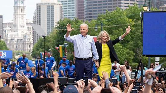 Joe Biden Rally in Philadelphia Video; 1 Dead, 1 Injured Frankford Shooting; Trooper Dies On Duty