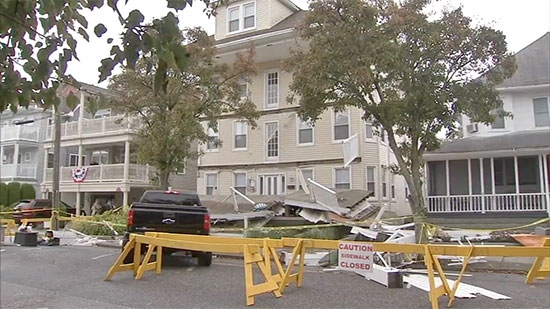 Wildwood Deck Collapses Injure About 20; Child Remains Found in DE; Uber Driver Arrested W.Chester
