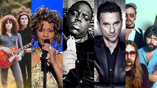 2020 Rock and Roll Hall of Fame Inductees Announced; Whitney Houston, Notorious B.I.G., NIN and more