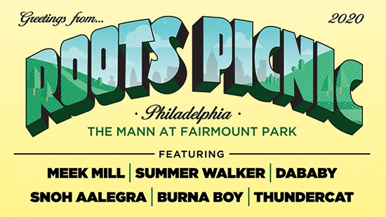 Roots Picnic Returns to the Mann at Fairmount Park Saturday May 30; Meek Mill, Summer Walker, DaBaby