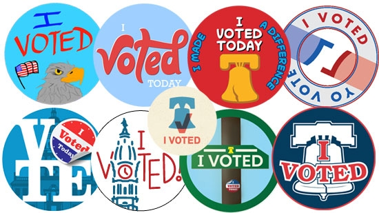 Vote for Philadelphia's I Voted Sticker; Free Library Cancels Overdue Fees; Pony Tied Up in DE