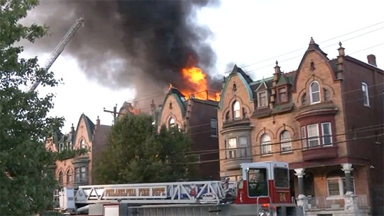 Fire Damages Homes in Parkside; 6yo Shot/Killed Bloody Weekend; Center City Protest Against Kenney
