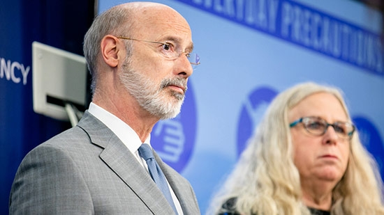 Judge Rules Gov Wolf's Orders Unconstitutional; Bucks Cold Case Sentence; Central Bucks School Plans